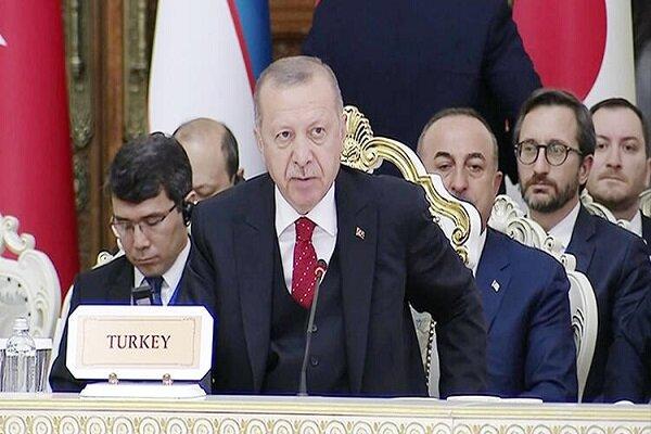 اردوغان: فعالیتهای کمیته قانون اساسی سوریه رو به اتمام است