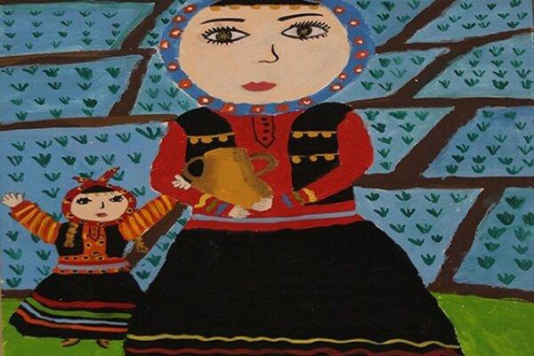 Iranian children win at Belarus art contest