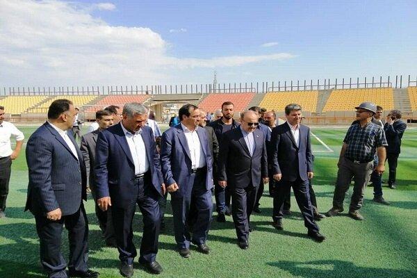 اظهارات وزیر ورزش درباره استانداردسازی ورزشگاهها