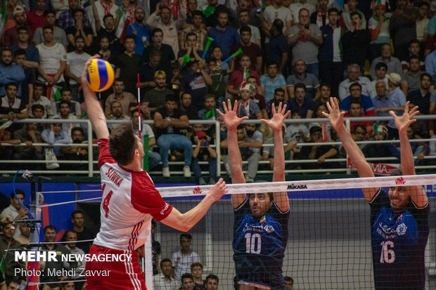 Iran vs Poland: VNL Week 3