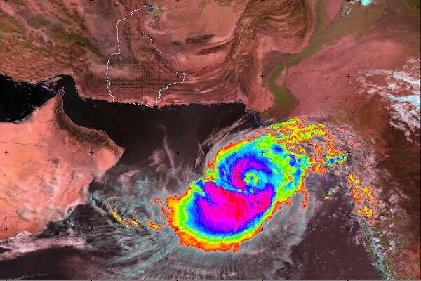 طوفان حارهای «وایو» در فاصله 750 کیلومتری سواحل چابهار قرار دارد