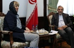 Iran's Khaji, EU's Schmid discuss Yemen in Tehran