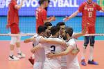 منتخب ايران لكرة الطائرة يكتسح منتخب روسيا بطل العالم