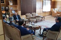 معاون پدافند غیر عامل کشور با استاندار قزوین دیدار کرد