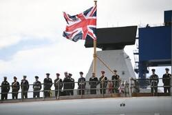 اعزام نظامیان انگلیسی به خلیج فارس