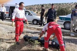 واژگونی وانت پیکان در محور کوهدشت- خرمآباد یک کشته برجا گذاشت