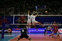 Iran vs Russia at VNL 2019