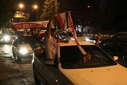 فیلم شادی مردم ارومیه بعد از برد ایران برابر روسیه