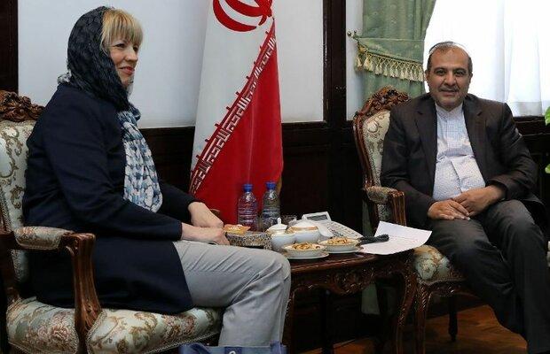 Iran's Khaji, EU's Schmid discuss Yemen in Tehran