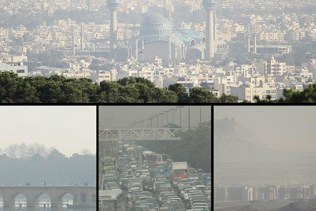 هوای اصفهان نارنجی شد