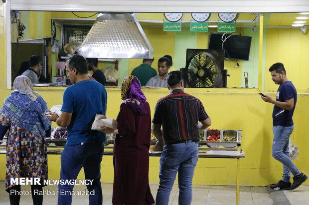 'Falafel' shops in Bandar Abbas