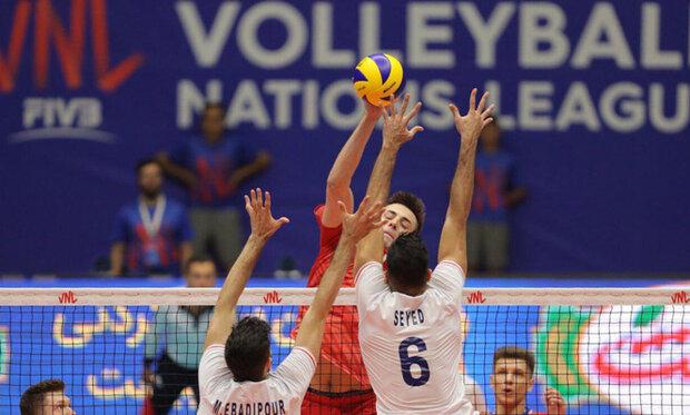 تیم ملی والیبال ایران, والیبال, لیگ ملت های والیبال