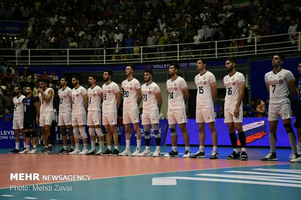 Iran volleyball team to depart for US on Saturday