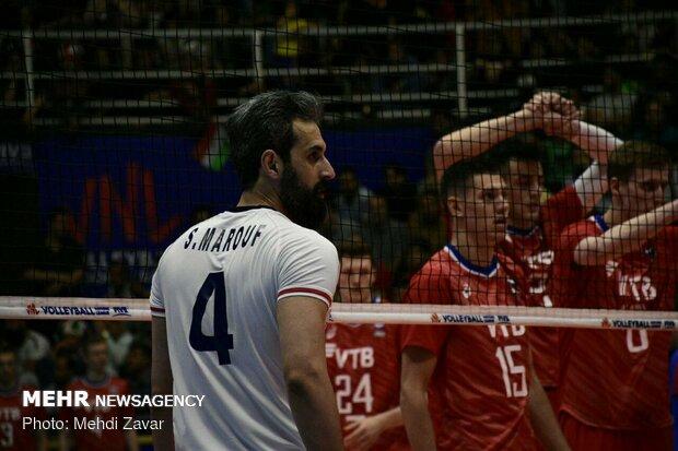 Iran vs Russia at VNL 2019