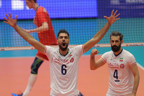 Iran first team to secure ticket to 2019 men's VNL Final Six