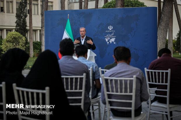Rabiei holds 1st presser as gov. spokesman