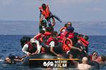 فیلمی از قایق واژگون شده پناهجویان در ساحل غربی ترکیه