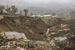 بررسی ۷۵ روستای دچار لغزش لرستان/ ۱۵ روستا باید پایدارسازی شوند