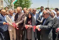 ۷۴ طرح خدماتی عمرانی و کشاورزی در استان قزوین افتتاح شد