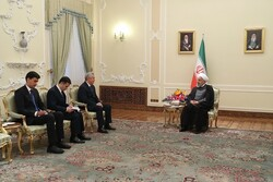 Tehran ready to cement ties with Dushanbe in all fields: Rouhani