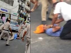 بھارتی پولیس کا سکھ رکشا ڈرائیور پر بہیمانہ تشدد