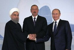 Iranian, Russian, Azeri presidents to meet in Sochi