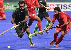 پیروزی تیم ملی هاکی در اولین دیدار مسابقات قهرمانی آسیا