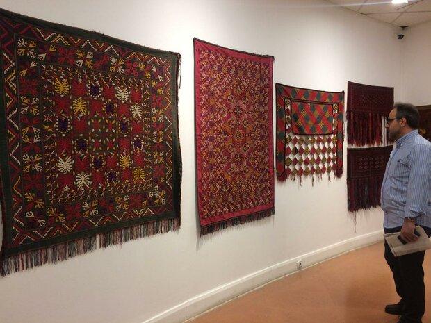 Tahran'da Türkmen sanat eserleri sergisi açıldı
