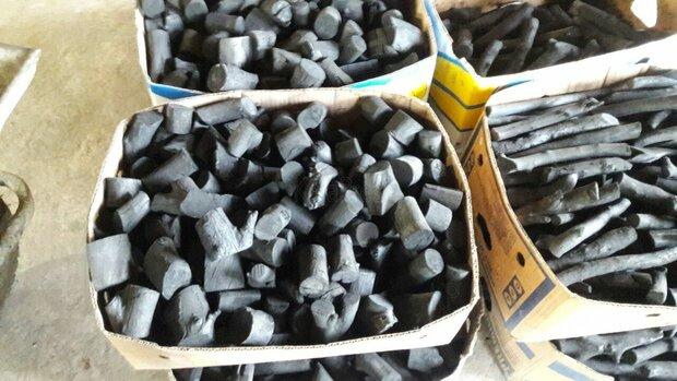 ۲۴۵ کیلوگرم ذغال درخت بلوط قاچاق در کوهرنگ کشف شد