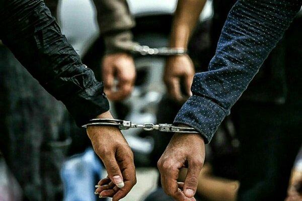 کشف ۳ تُن ارزاق حین خروج از کشور /دستگیری۱۰ قاچاقچی در مرز شلمچه
