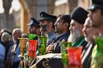 Hz. Abdulazim Hasani (a.s) Türbesi'nde bayrak değiştirme merasimi