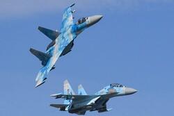 رهگیری بمب افکن آمریکایی بر فراز دریای سیاه توسط روسیه