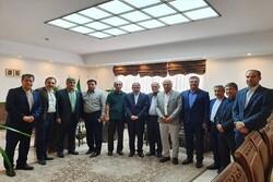 دیدار هیات مدیره پیشکسوتان استقلال با رئیس کمیته ملی المپیک