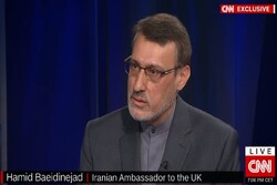 Iran's envoy to UK asks US to act like a 'normal country'