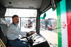 راهداری استان سمنان به ۱۳۵ اتوبوس درراه مانده خدماترسانی کرد