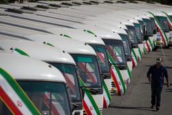 حافلات جديدة في شوارع طهران/صور