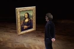 موزه لوور مونالیزای مجازی را به نمایش می گذارد