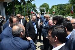 رئیس کل گمرک آذربایجان از مرز و گمرک آستارای ایران بازدید کرد