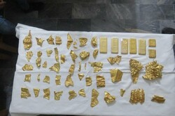 کشف ۶ کیلوشمش طلا و ۵۰ قطعه عتیقه