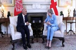 محورهای دیدار رئیس جمهوری افغانستان با «ترزا می»