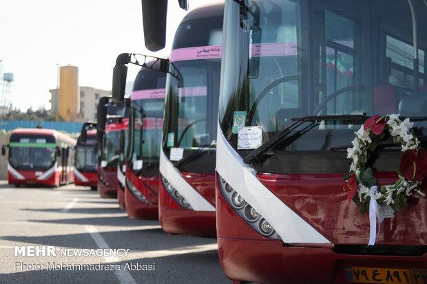 ناوگان عمومی کرج نونوار میشود/ خرید ۵۶ دستگاه اتوبوس جدید