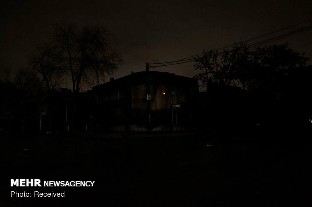 قطع برق در آمریکای جنوبی
