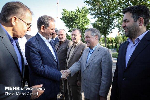سفر یک روزه جهانگیری به زنجان