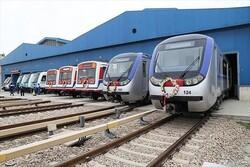 ايران تخطط لتوطين 85 في المئة من صناعة قطارات مترو الانفاق