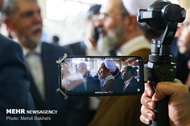 افتتاح دوازدهمین نمایشگاه ملی رسانه های دیجیتال در قم