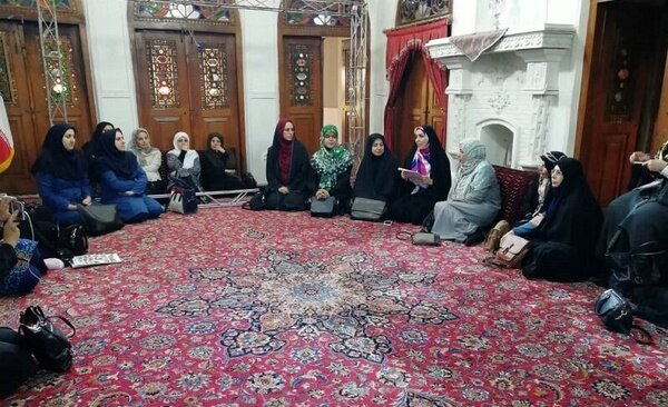 Ambassadors' wives tour Qazvin attractions