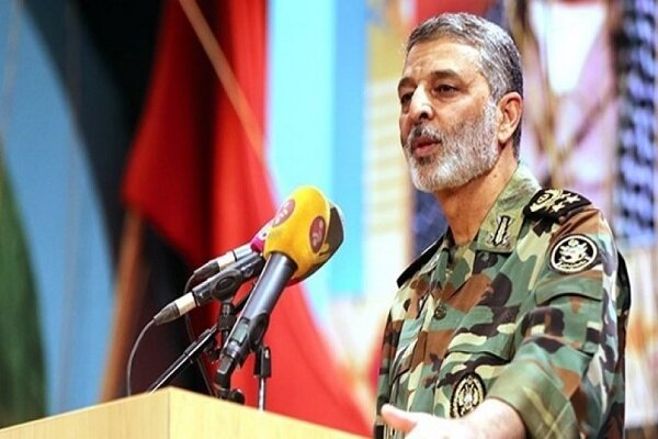 Iranian armed forces determined to overthrow 'Global Arrogance': Army cmdr.