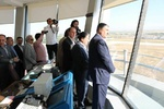Iran's tallest airport control tower goes on stream in Hamedan