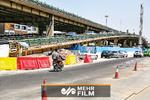 تصاویری از آغاز انسداد و جمعآوری پل گیشای تهران