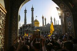 قم میں مدافع حرم 2 شہیدوں کی تشییع جنازہ